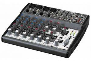 8 channel audio sound mixer