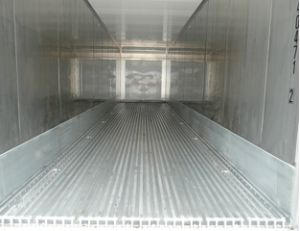 Interior View of Refrigerated Container