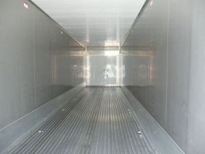 Interior of Refrigerated Storage Trailer