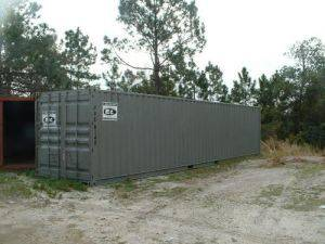 40' Portable storage container rental