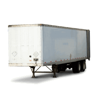 45ft storage trailer for rent