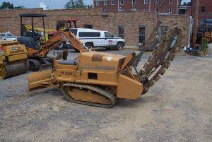 Case TF300 Trenchers for Rent in Clarksville, Northwest Tennessee