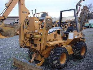 Case 560 Trencher For Rent