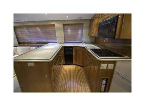 Miami Luxury Fishing Boat Rentals Kitchen