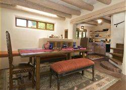 Canyon Road Cassidy Compound (Santa Fe)  Dining area