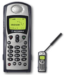 Satellite Phone With Antenna