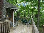Greenhills Estates Montecello Large Back Porch with view of Lake Cumberland