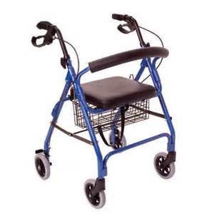 rollator walker blue