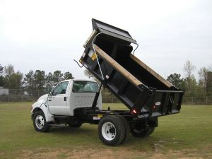 dump trucks with 5 cubic meter beds for rent
