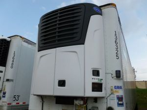 Front of Refrigerated Trailer