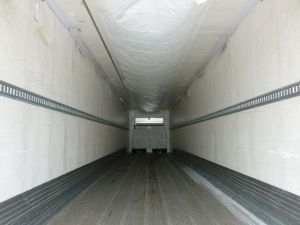 Interior View of Cold Storage Trailer