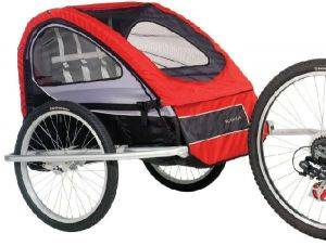 Bike Trailer With Storage