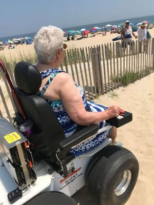 Where to rent powered beach wheelchairs | Delaware Coast Beaches