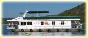House Boat For Rent in Dale Hollow Lake, Tennessee