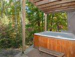 Hot tub With Cabin Rental