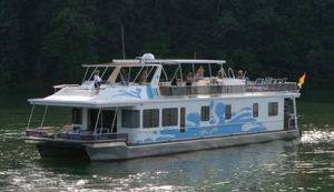 Lake Cumberland 7 Bedroom Houseboat Rental Kentucky
