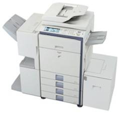 Sharp Color Copier For Rent