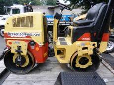 Portable Asphalt Roller Rental