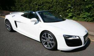 Los Angeles Audi R8 Convertible For Rent