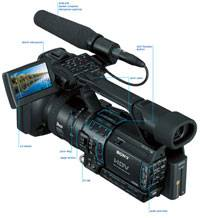 Des Moines Sony HVR-Z1U Camcorder For Rent-Iowa
