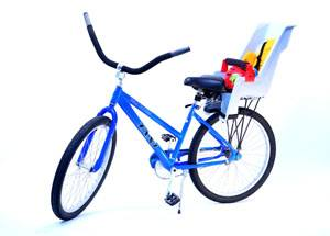 Unisex Bicycle With Child Seat For Rent