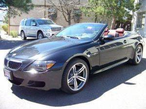 Los Angeles BMW M6 Convertible For Rent - With Red Leather Interior