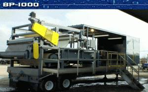 Florida Wastewater Mobile Belt Press Rental