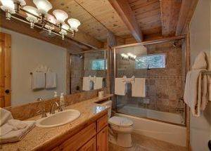 Home Rentals Bathroom in Lake Tahoe