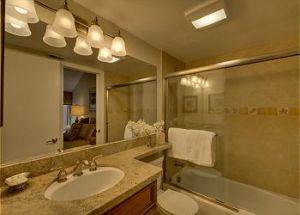 Condo Vacation Rental Bathroom in Lake Tahoe