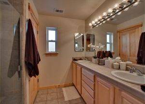 Town Home Rental Bathroom in Lake Tahoe