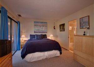 Town Home Rentals Bedroom 1 in Lake Tahoe