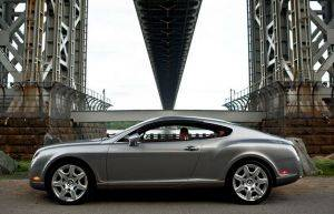 Image of Bentley Continental GT For Rent