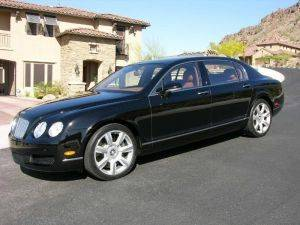 California Bentley Flying Spur Rental