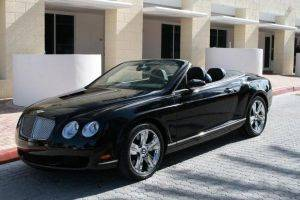 Florida Bentley GTC Rental