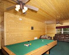 Big Bear Lodge Pool Table