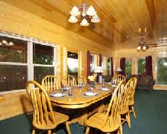 Big Bear Lodge Dining Room