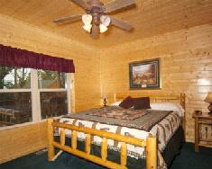 Big Bear Lodge Bedroom with king bed