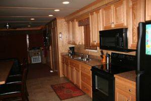 Dale Hollow Lake Houseboat Full Kitchen for Rent in Tennessee