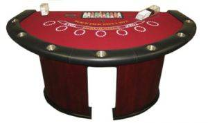 Blackjack Table Rentals in Chicago, Illinois
