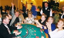 Blackjack Table for Rental in Ohio