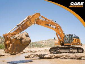 Clarksville Case CX135 Excavator Rentals in TN
