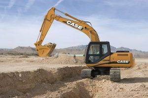 Paducah Case CX160 Excavator Rentals in Kentucky