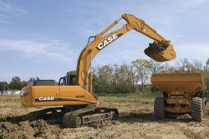 Marion Case CX290 Excavator Rentals in Southern Illinois