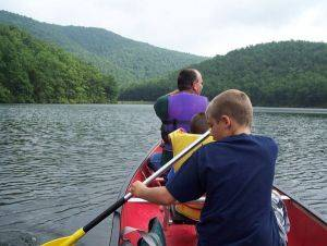 Shenandoah Valley Canoe Rentals in The Blue Ridge Mountains, Virginia