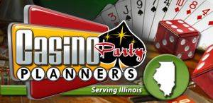 Logo for Casino Party Planners in Chicago, IL