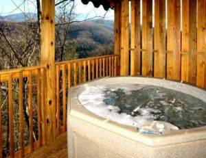 View of Hot Tub