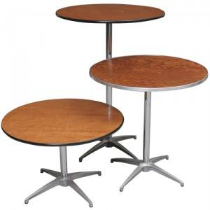 Different Height Cocktail Tables