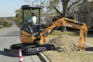 Paducah Case CX27 Mini Excavator Rentals in Kentucky