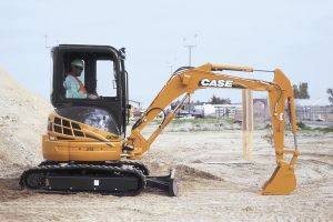 Clarksville Case CX31 Mini Excavator Rentals in TN