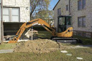 Marion Case CX50 Mini Excavator Rentals in Southern Illinois